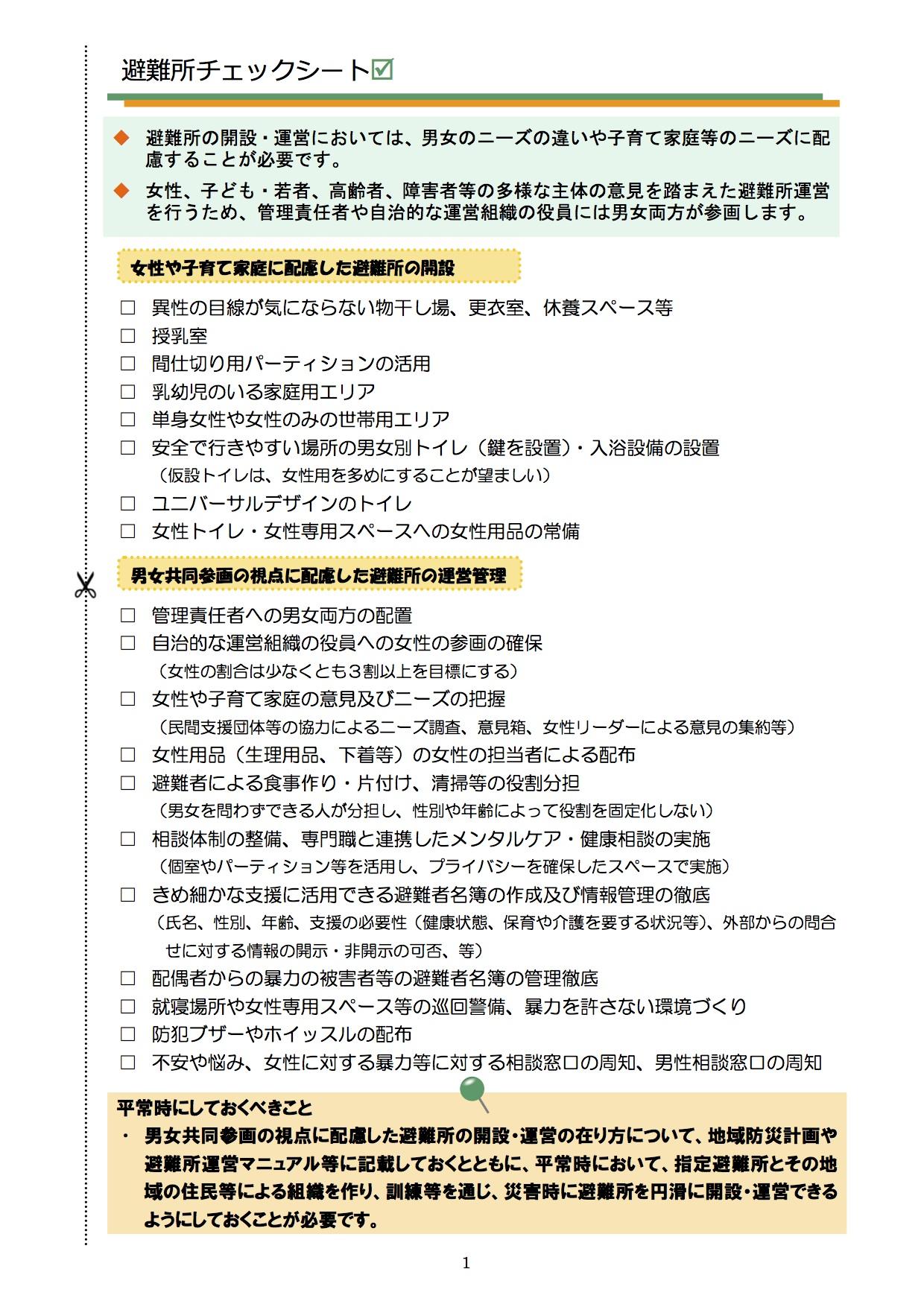 shishin_hinanjyo_checksheet